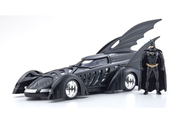 JADA TOYS 1/24scale Batmobile (Batman Forever) with Batman figure  [No.JADA98036]