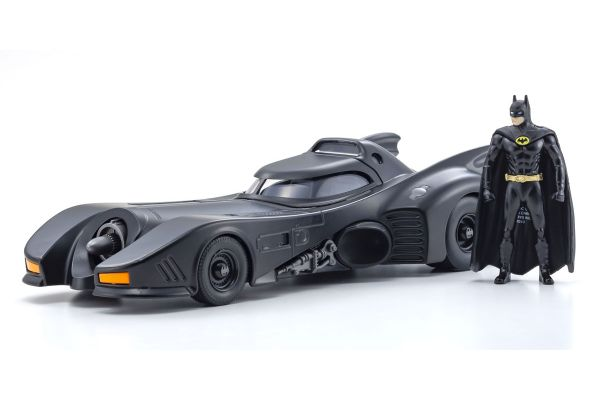 JADA TOYS 1/24scale Batmobile (Batman 1989) with Batman figure  [No.JADA98260]