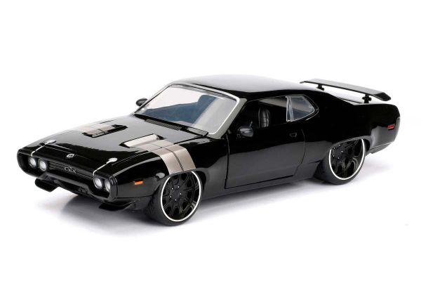 JADA TOYS 1/24scale F & F Plymouth GTX Black (Dominique)  [No.JADA98292]