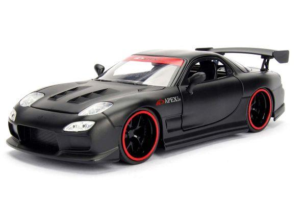 JADA TOYS 1/24scale 1995 Mazda RX-7 FD3S Black / Graphics  [No.JADA98568BK]
