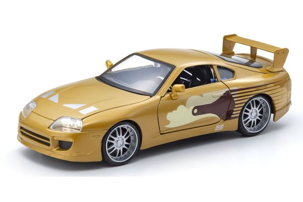 JADA TOYS 1/24scale F & F Toyota Supra (Gold) Slap Jack  [No.JADA99540]