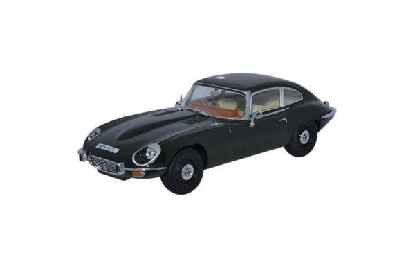 OXFORD 1/43scale Jaguar V12 E type coupe British Racing Green  [No.OXJAGV12004]