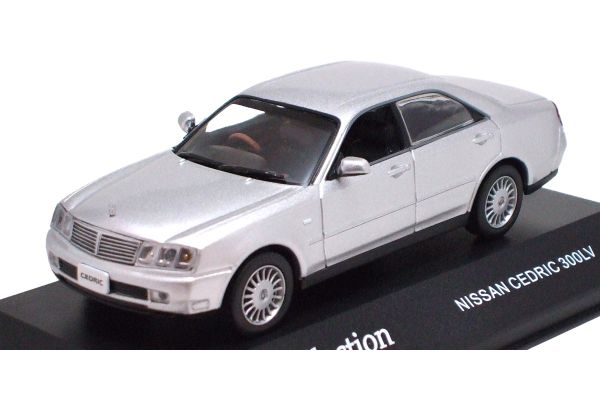 J-COLLECTION 1/43scale Nissan Cedric 300LV Diamond Silver [No.JC02003S]