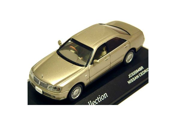J-COLLECTION 1/43scale Nissan Cedric (Silica Brass) Gold [No.JC02094BR]