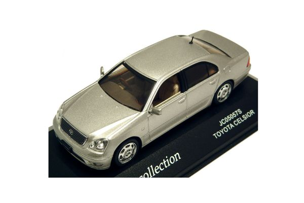 J-COLLECTION 1/43scale Toyota Celsior Silver Met. [No.JC05057S]