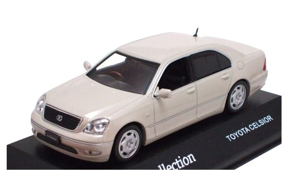 J-COLLECTION 1/43scale Toyota Celsior Ivory Crystal Shine [No.JC05058I]
