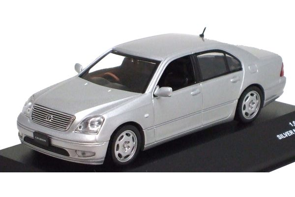 J-COLLECTION 1/43scale Toyota Celsior C 2001 Silver Metallic [No.JC05060S]