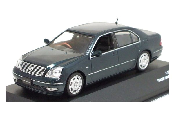 J-COLLECTION 1/43scale Toyota Celsior C 2001 Dark Green Mica [No.JC05062DG]