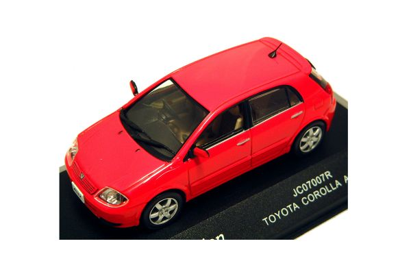 J-COLLECTION 1/43scale Toyota Allex Xs 150 G Edition Red [No.JC07007R]