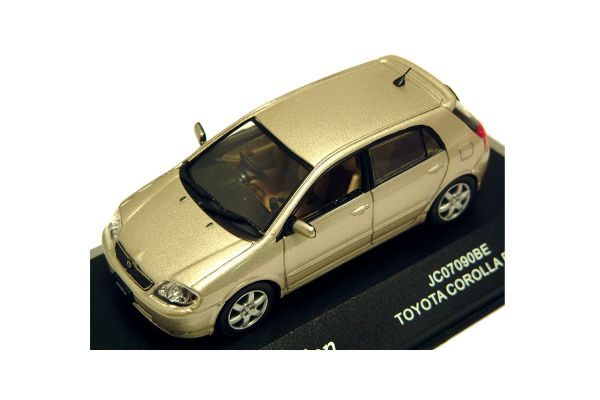 J-COLLECTION 1/43scale Toyota Corolla Runx Beige Met. [No.JC07090BE]