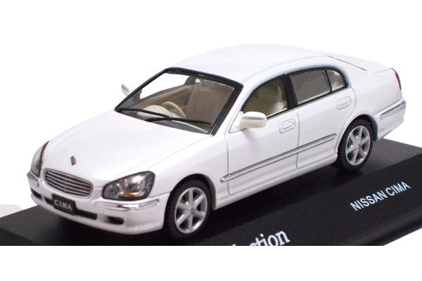 J-COLLECTION 1/43scale Nissan Cima White Pearl [No.JC08025W]