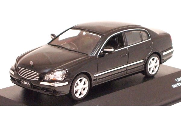 J-COLLECTION 1/43scale Nissan Cima 450 VIP 2005 Super Black [No.JC08026BK]