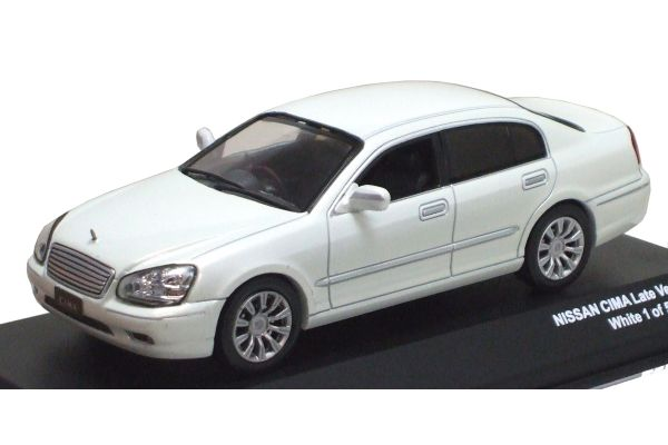 J-COLLECTION 1/43scale NISSAN CIMA LATE VERSION White [No.JC08501WP]