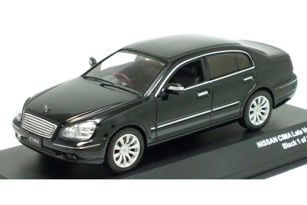 J-COLLECTION 1/43scale NISSAN CIMA LATE VERSION Black [No.JC08504BK]