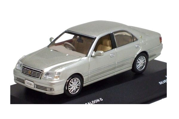 J-COLLECTION 1/43scale Toyota Crown Royal Saloon G Silver Metallic [No.JC10013SL]