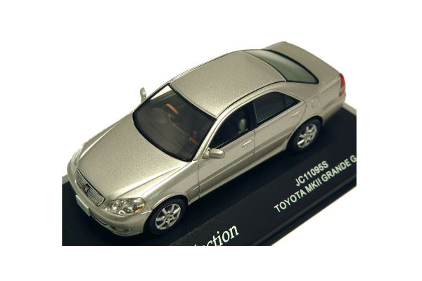 J-COLLECTION 1/43scale Toyota Mark-II Grande G Silver Met. [No.JC11095S]
