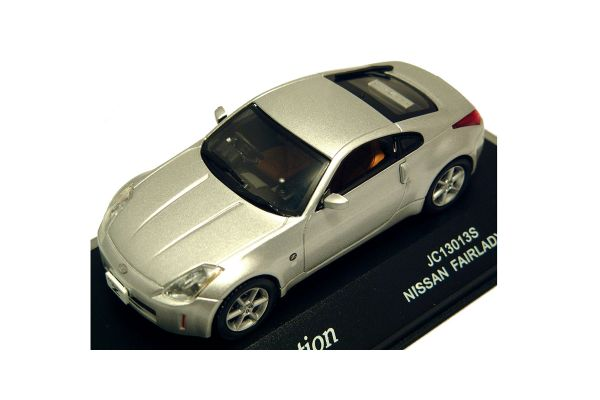 J-COLLECTION 1/43scale Nissan Fairlady Z33 Silver [No.JC13013S]