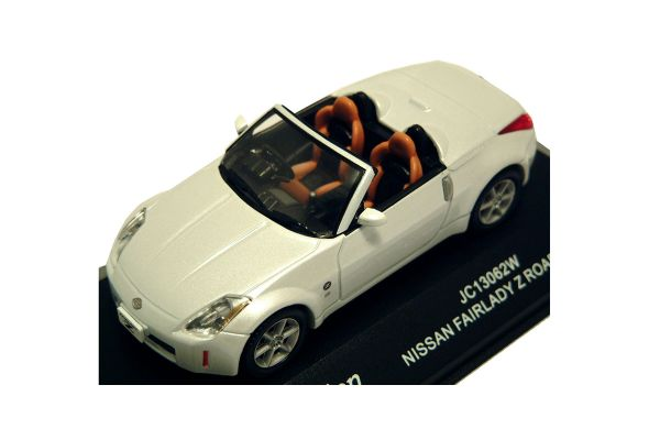 J-COLLECTION 1/43scale Nissan Fairlady Z Roadster White Pearl [No.JC13062W]
