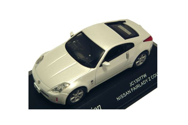J-COLLECTION 1/43scale Nissan Fairlady Z Coupe White [No.JC13077W]