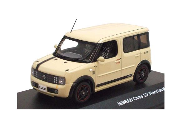 J-COLLECTION 1/43scale NISSAN Cube Neoclassical 2006 (Beans)  (Left-Hand Drive)  [No.JC131]