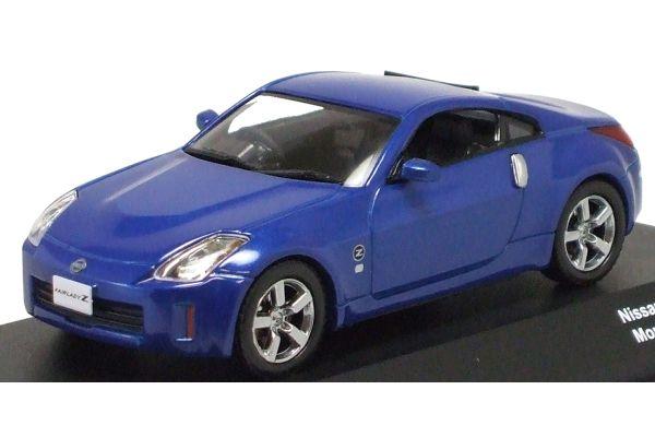 J-COLLECTION 1/43scale Nissan Fairlady Z 2007 Monterrey Blue [No.JC13204MB]