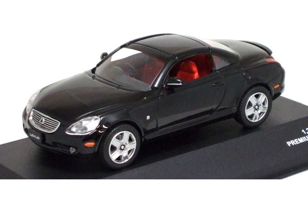 J-COLLECTION 1/43scale LEXUS SC430 2005 (Closed Roof) Premium Black [No.JC14004BK]