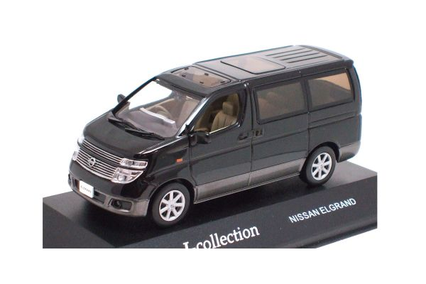 J-COLLECTION 1/43scale Nissan Elgrand Black [No.JC16044K]