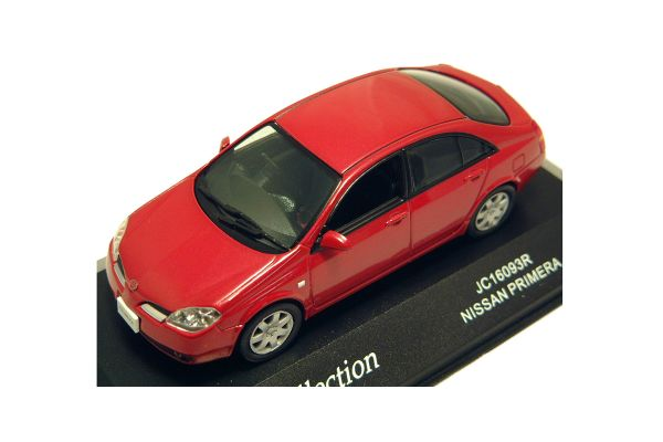 J-COLLECTION 1/43scale Nissan Primera Luminous Red [No.JC16093R]