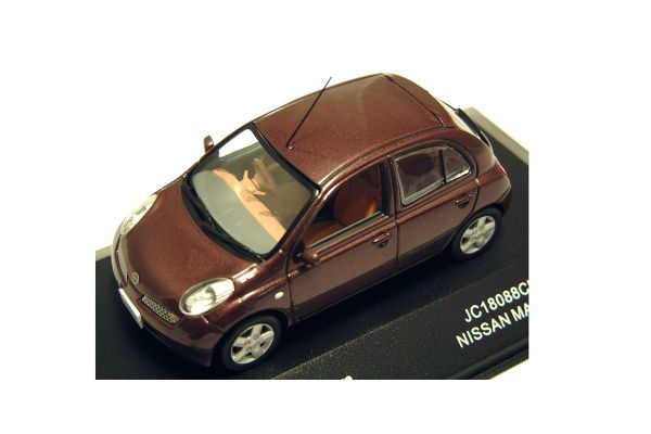 J-COLLECTION 1/43scale Nissan March Chocola [No.JC18088CH]
