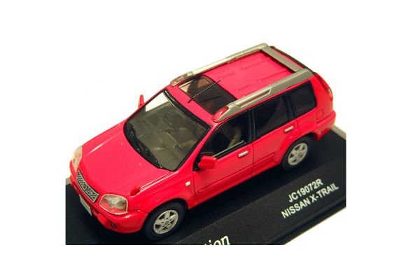 J-COLLECTION 1/43scale Nissan X-TRAIL Burning Red [No.JC19072R]