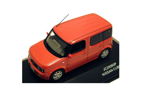 J-COLLECTION 1/43scale Nissan Cube Paprika Orange [No.JC20060P]