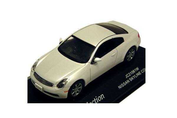 J-COLLECTION 1/43scale Nissan Skyline Coupe Pearl White [No.JC21061W]