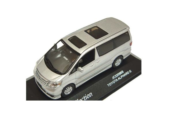 J-COLLECTION 1/43scale Toyota Alphard G Silver Met. [No.JC22096S]