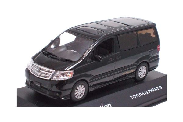 J-COLLECTION 1/43scale Toyota Alphard G Logostripe Ver. Black [No.JC22097B]