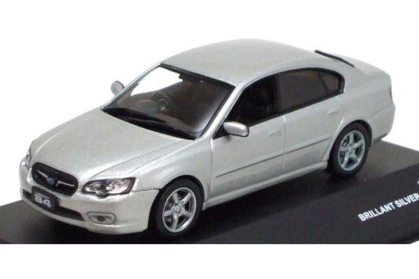 J-COLLECTION 1/43scale Subaru Legacy B4 2.0R 2005 Bririant Silver Metallic [No.JC23067SL]