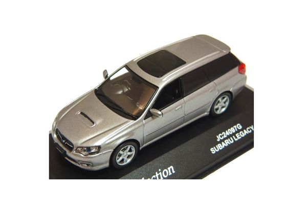 J-COLLECTION 1/43scale Subaru Legacy 2.0GT Touring Wagon Gray Met. [No.JC24097G]
