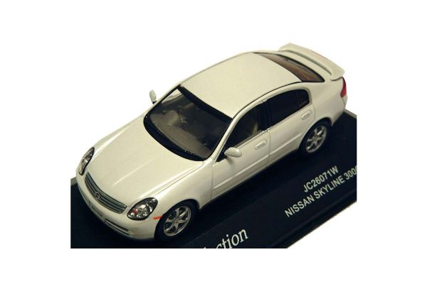 J-COLLECTION 1/43scale Nissan Skyline 300GT 5-Door White Pearl [No.JC26071W]