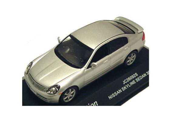 J-COLLECTION 1/43scale Nissan Skyline Sedan 300GT Diamond Silver [No.JC26092S]