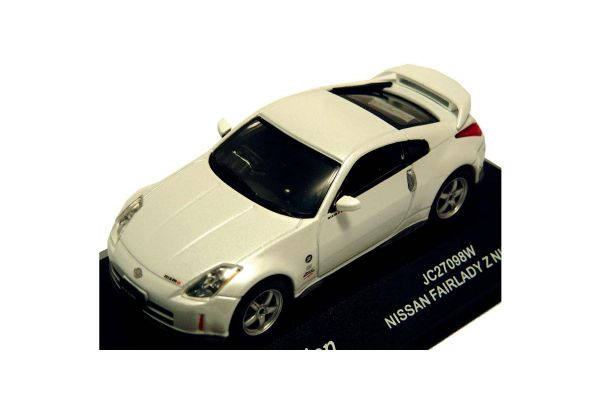 J-COLLECTION 1/43scale Nissan Fairlady Z S Tune GT White [No.JC27098W]