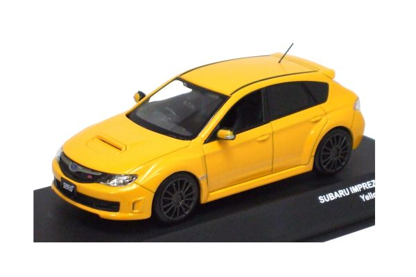 J-COLLECTION 1/43scale SUBARU IMPREZA WRX STI Spec C Yellow [No.JC29002YL]