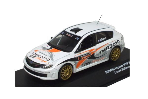 J-COLLECTION 1/43scale SUBARU Impreza WRX STI Grp N Tommi Makinen Racing 2010 White [No.JC29018RL]