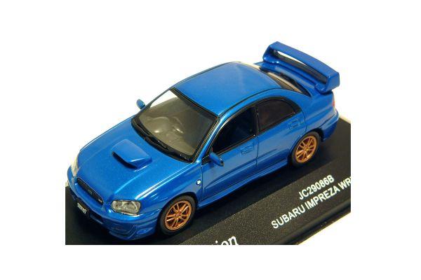 J-COLLECTION 1/43scale Subaru Impleza WRX Sti Monte Blue [No.JC29086B]