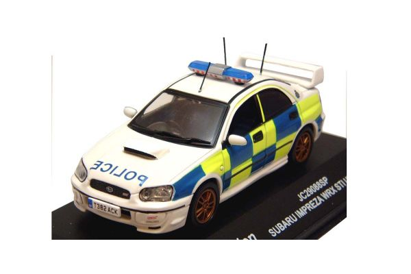 J-COLLECTION 1/43scale Subaru Impreza WRX STI (British Patrol Car)  [No.JC29088SP]