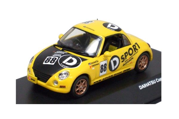 J-COLLECTION 1/43scale D-SPORTS COPEN No.88 Yellow/Interior:Red [No.JC30081DS]
