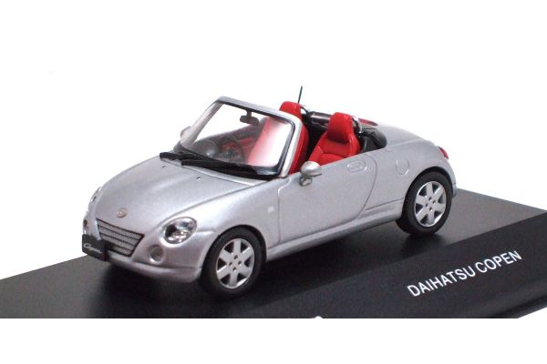 J-COLLECTION 1/43scale Daihatsu Copen Silver [No.JC30087S]