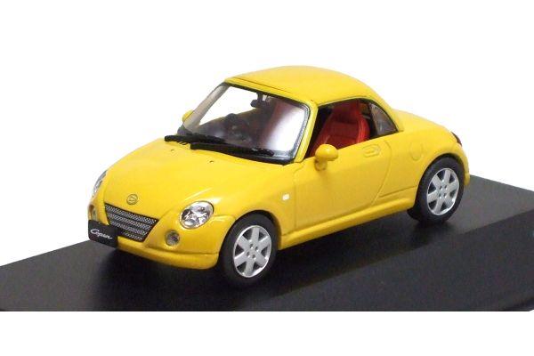 J-COLLECTION 1/43scale Daihatsu Copen (Close Roof) Yellow [No.JC30089Y]