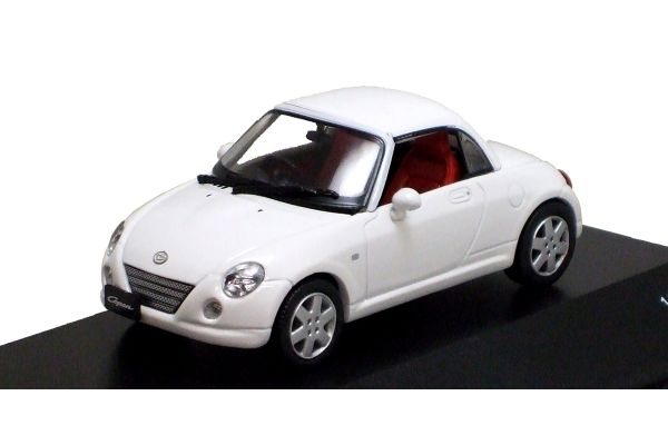 J-COLLECTION 1/43scale Daihatsu Copen (Close Roof) White [No.JC30090W]