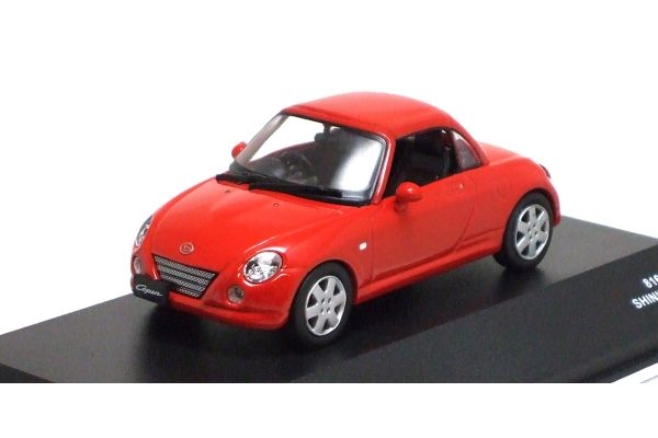 J-COLLECTION 1/43scale Daihatsu Copen (Close Roof) Shining Red [No.JC30091R]