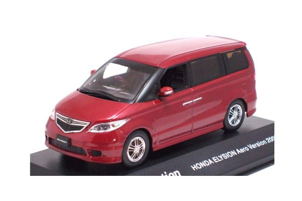 J-COLLECTION 1/43scale Honda Elysion Aero Package 2005 Royal Ruby Red [No.JC32003RR]
