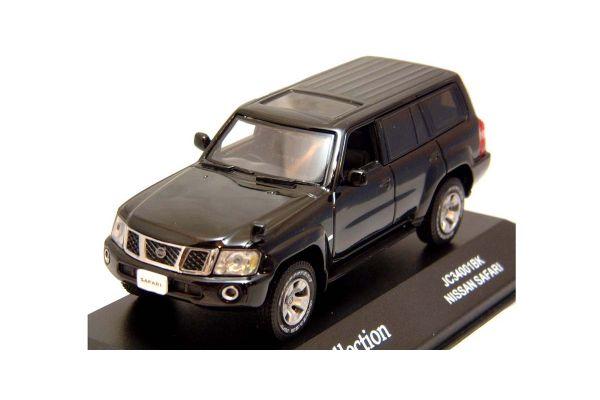 J-COLLECTION 1/43scale Nissan Safari Black [No.JC34001BK]